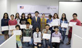 """[Dân trí] Học bổng danh giá từ Đại sứ quán Hoa Kỳ và Học viện IIG """"truyền lửa cho những giấc mơ Mỹ"""""""