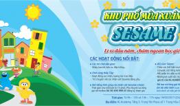 Khu phố mùa xuân Sesame – Sự kiện HOT đầu năm cho các bé
