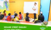 THÔNG BÁO LỊCH KHAI GIẢNG THÁNG 3– SESAME STREET ENGLISH