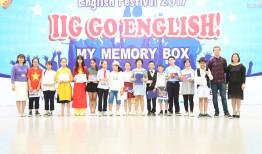 """TRƯỜNG THCS NAM TỪ LIÊM TƯNG BỪNG CHUNG KẾT FESTIVAL TIẾNG ANH – """"MY MEMORY BOX"""""""