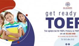 """TRẢI NGHIỆM """"BÀI THI TOEFL THẬT"""" TỪ ETS CHỈ VỚI 80.000 VND"""